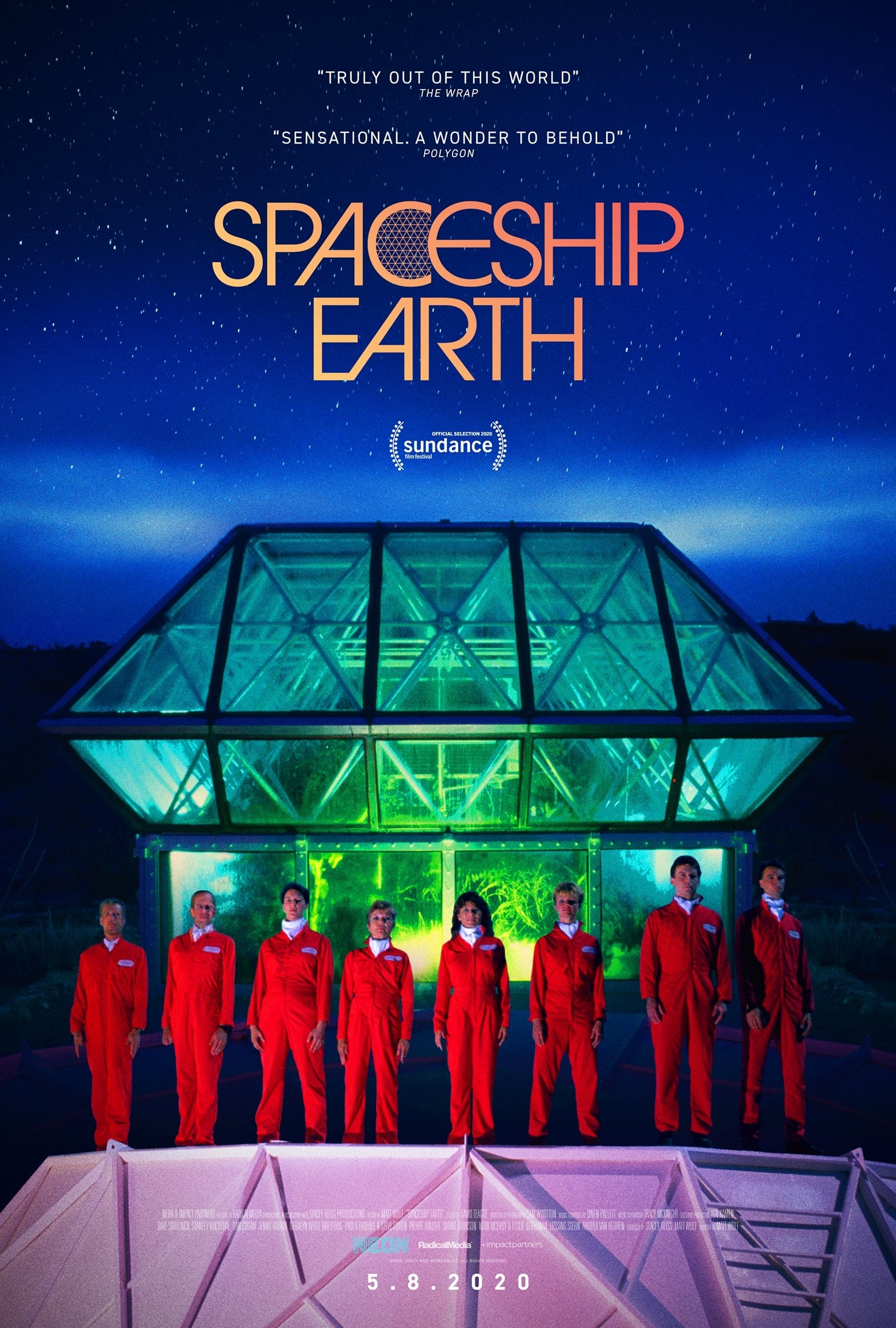 Poster for Spaceship Earth + Filmmaker Q&A
