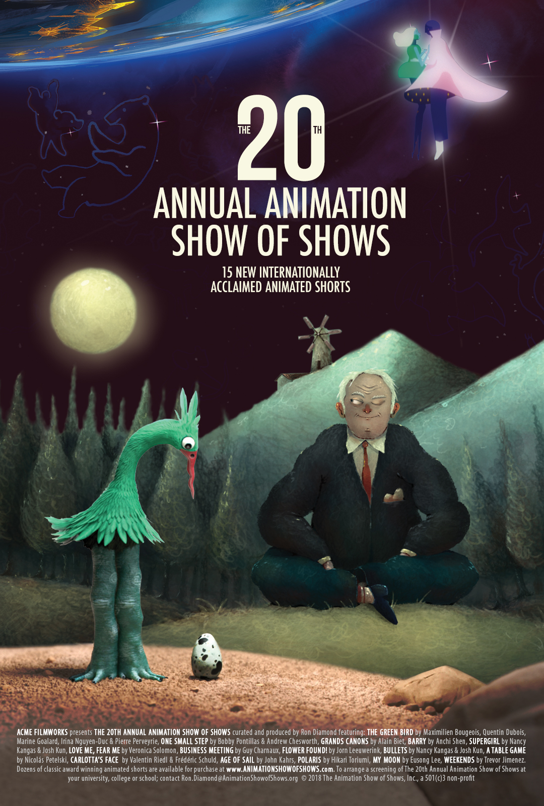 Poster for Animation Show of Shows