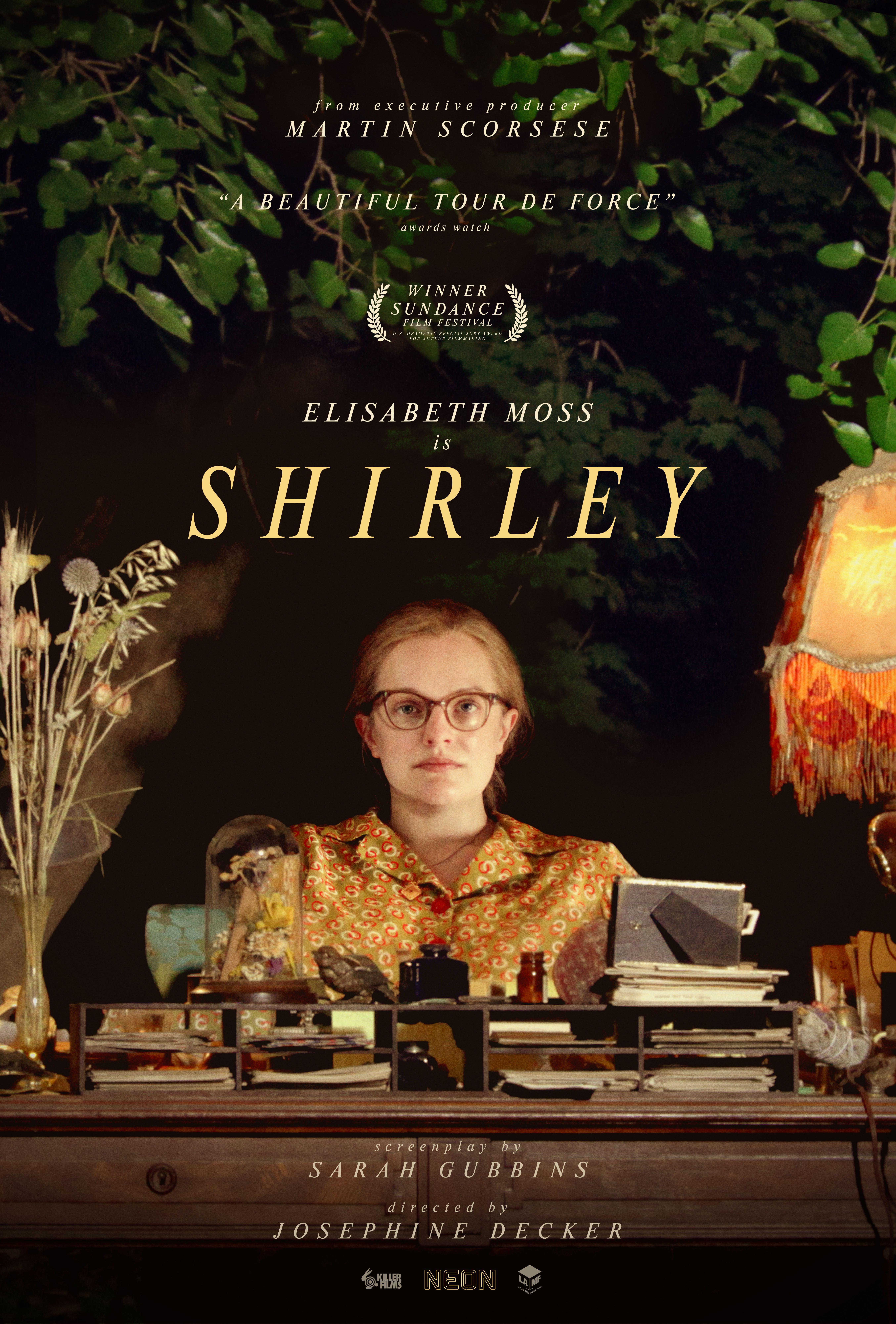 Poster for SHIRLEY Livestream + Elisabeth Moss Q&A