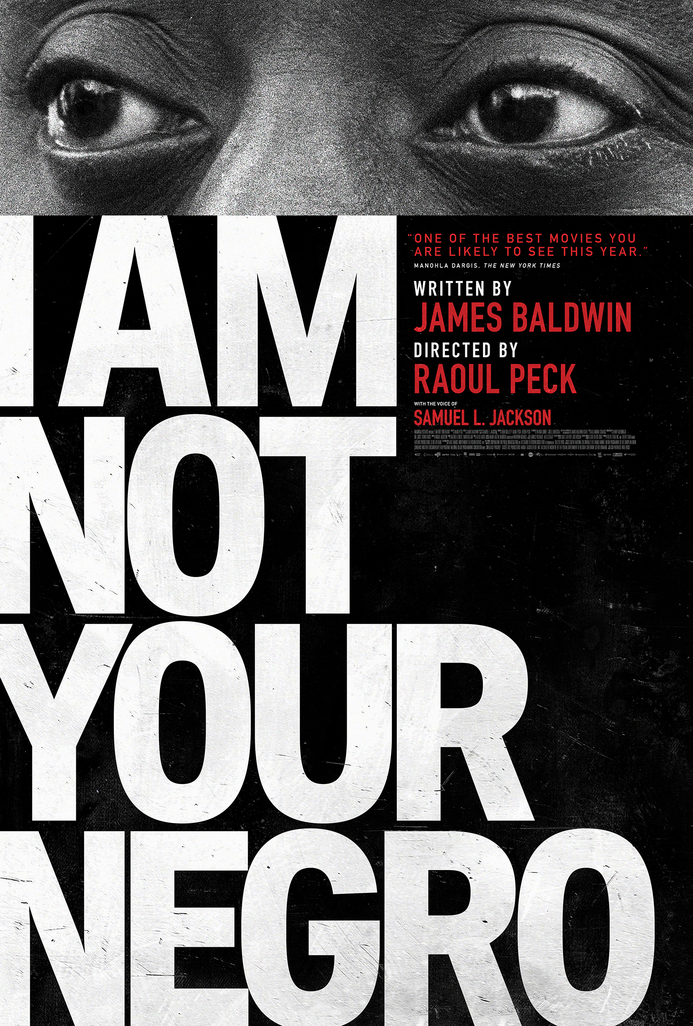 Poster for I Am Not Your Negro – FREE Screening!