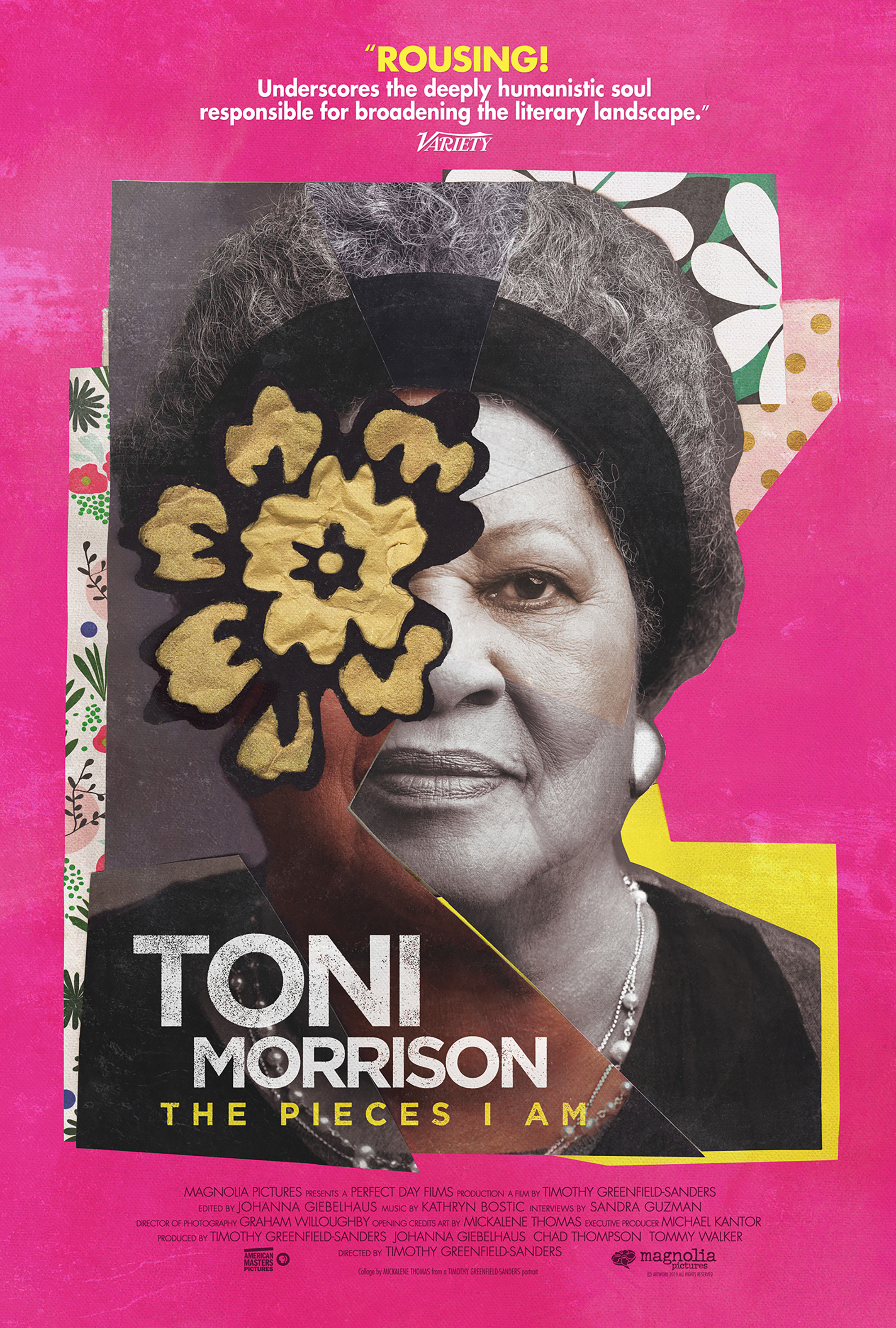 Poster for Toni Morrison: The Pieces I Am