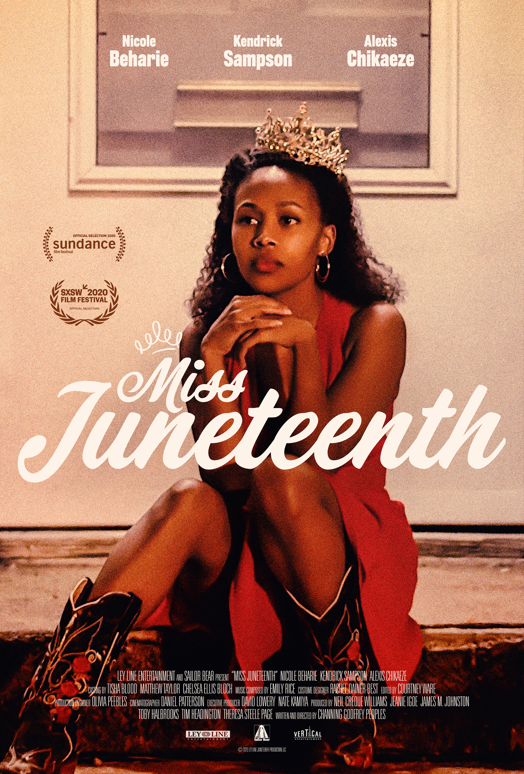 Poster for Miss Juneteenth