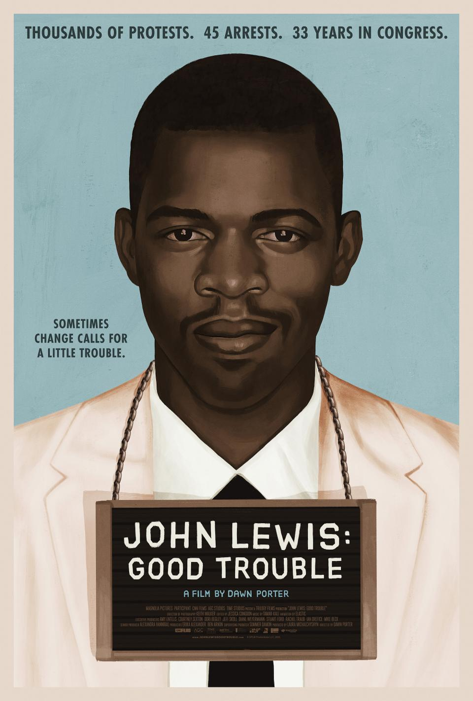 Poster for John Lewis: Good Trouble