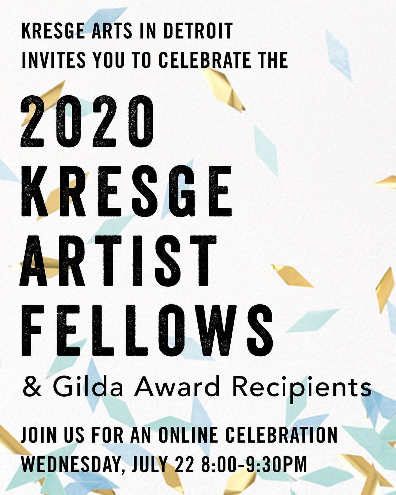 Poster for A Celebration of Detroit Artists!