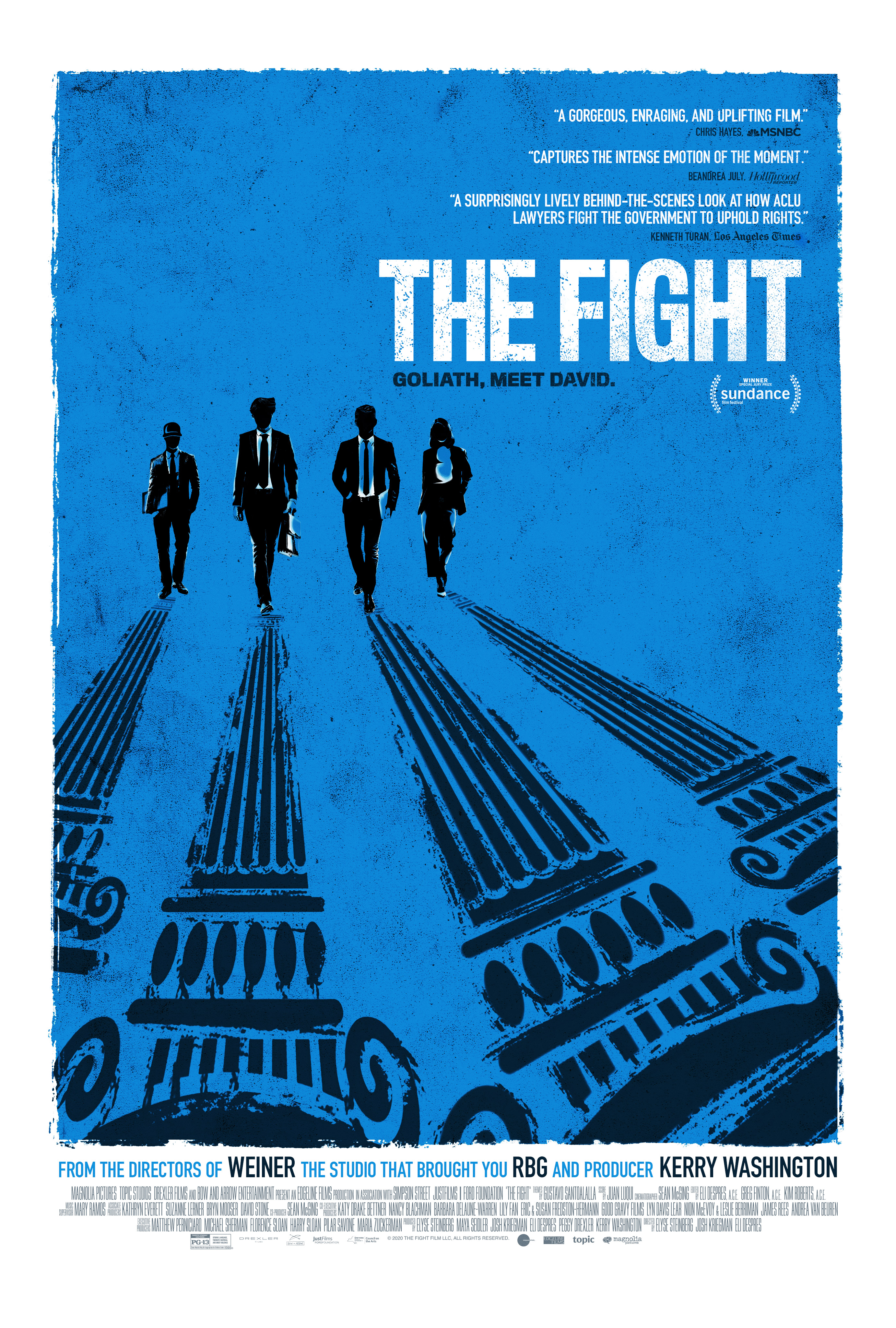 Poster for The Fight