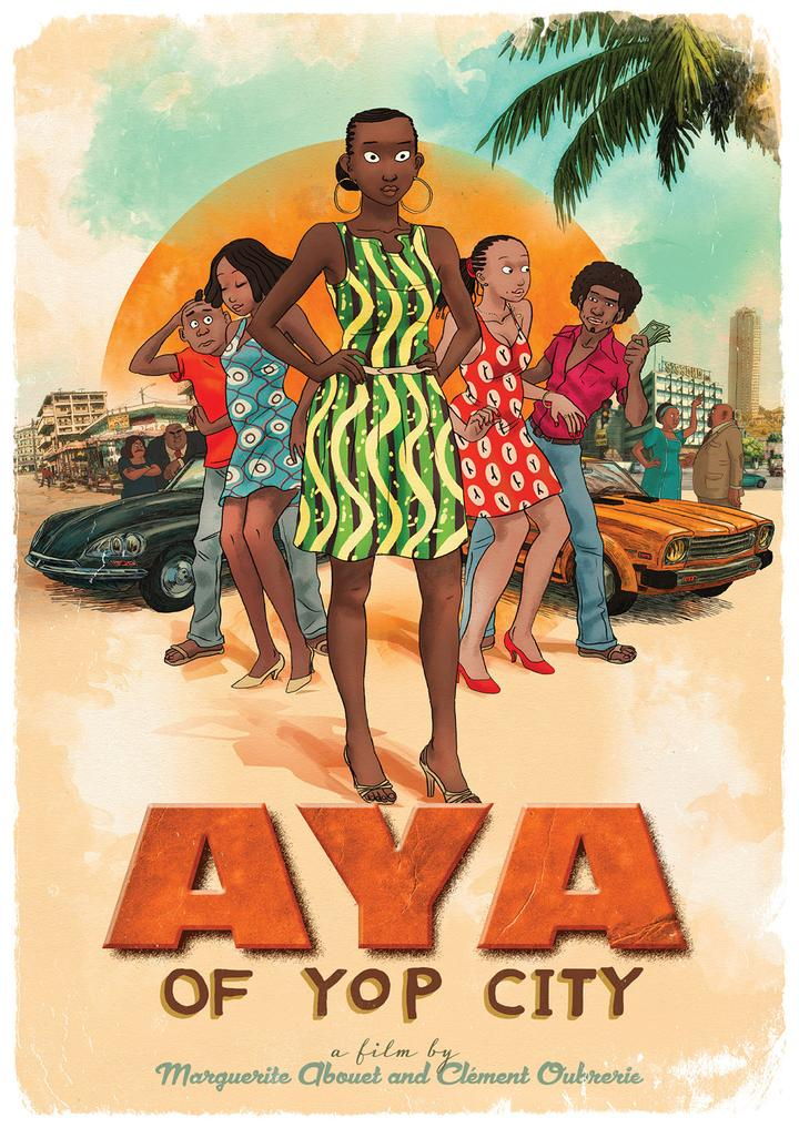 Poster for Aya of Yop City
