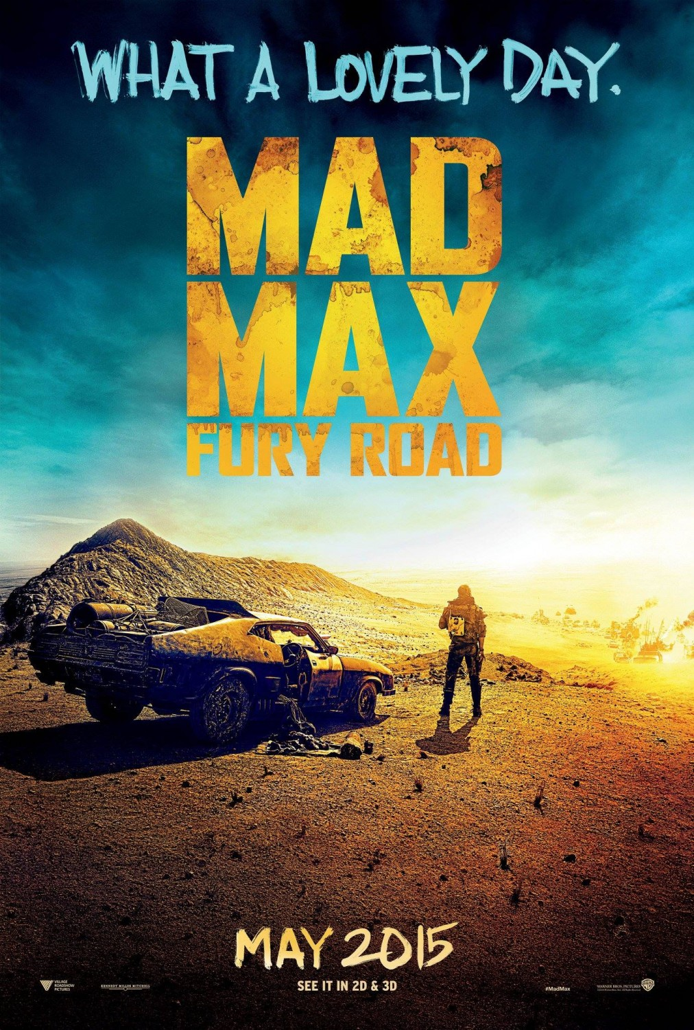 Poster for Mad Max: Fury Road