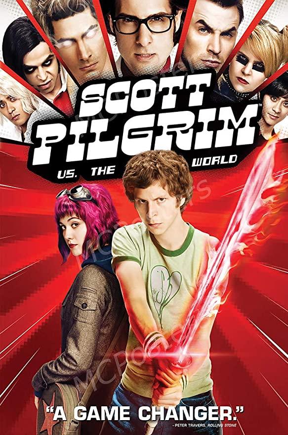 Poster for Scott Pilgrim vs. the World