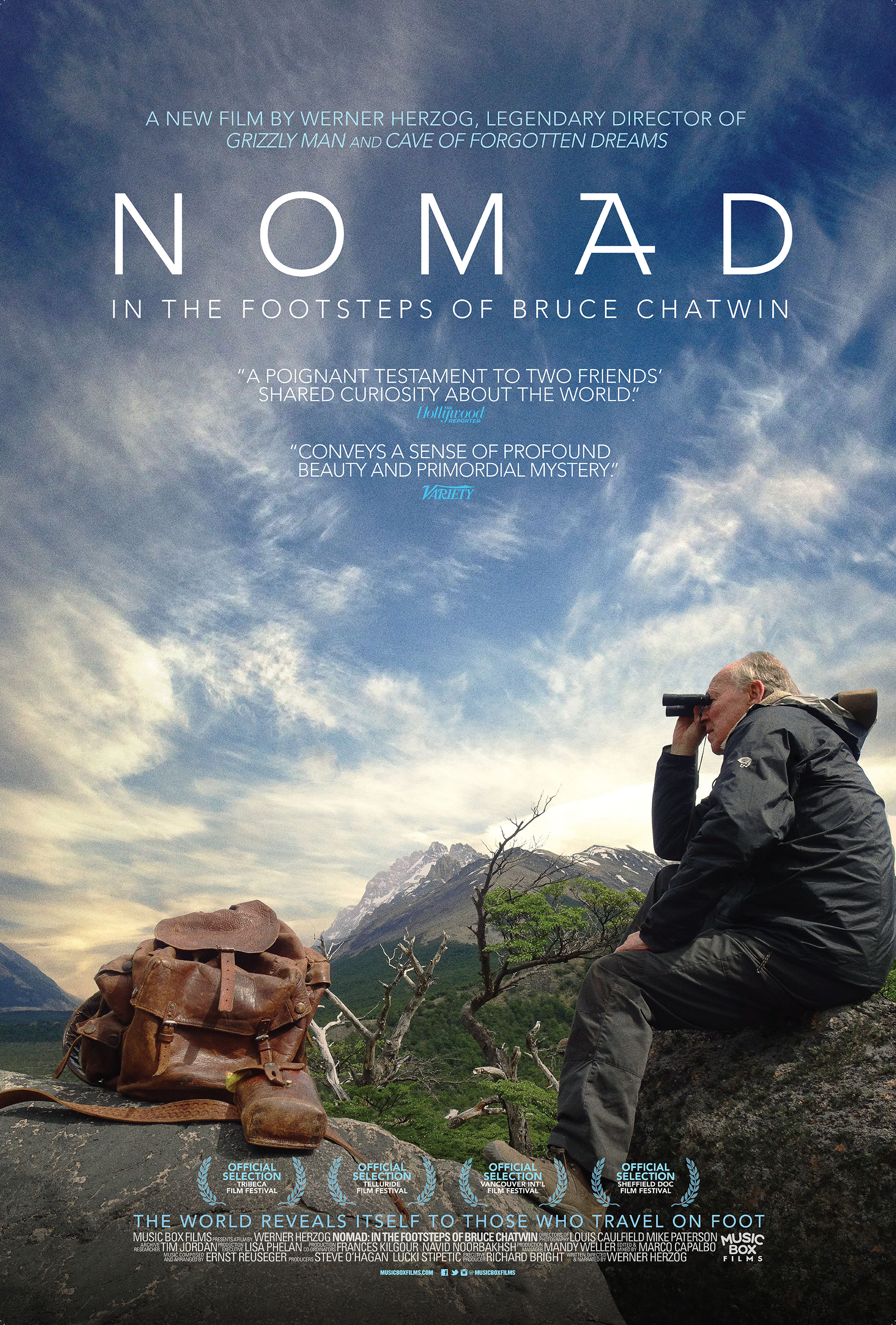 Poster for Nomad: In the Footsteps of Bruce Chatwin