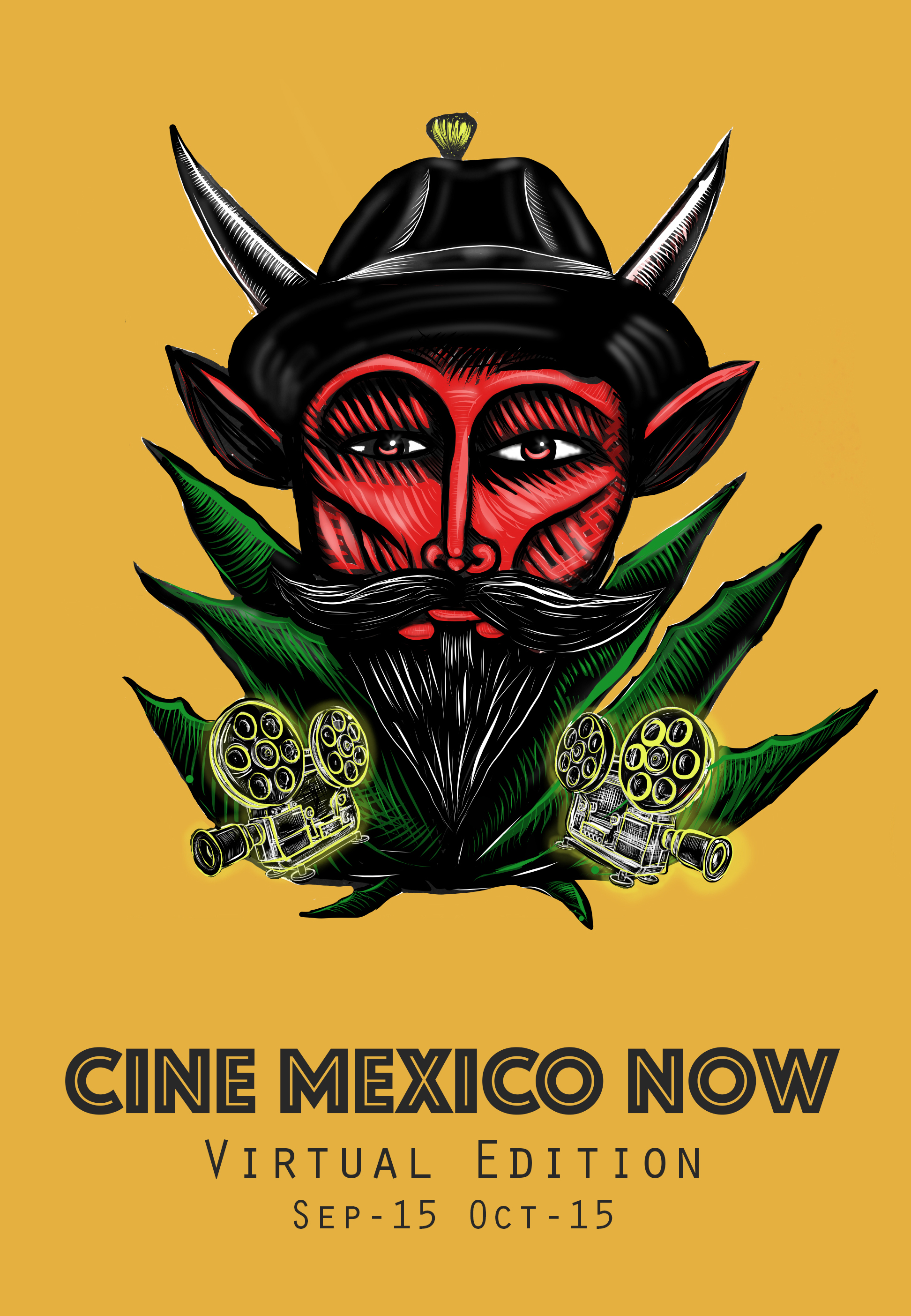 Poster for Cine Mexico Now Shorts–FREE!