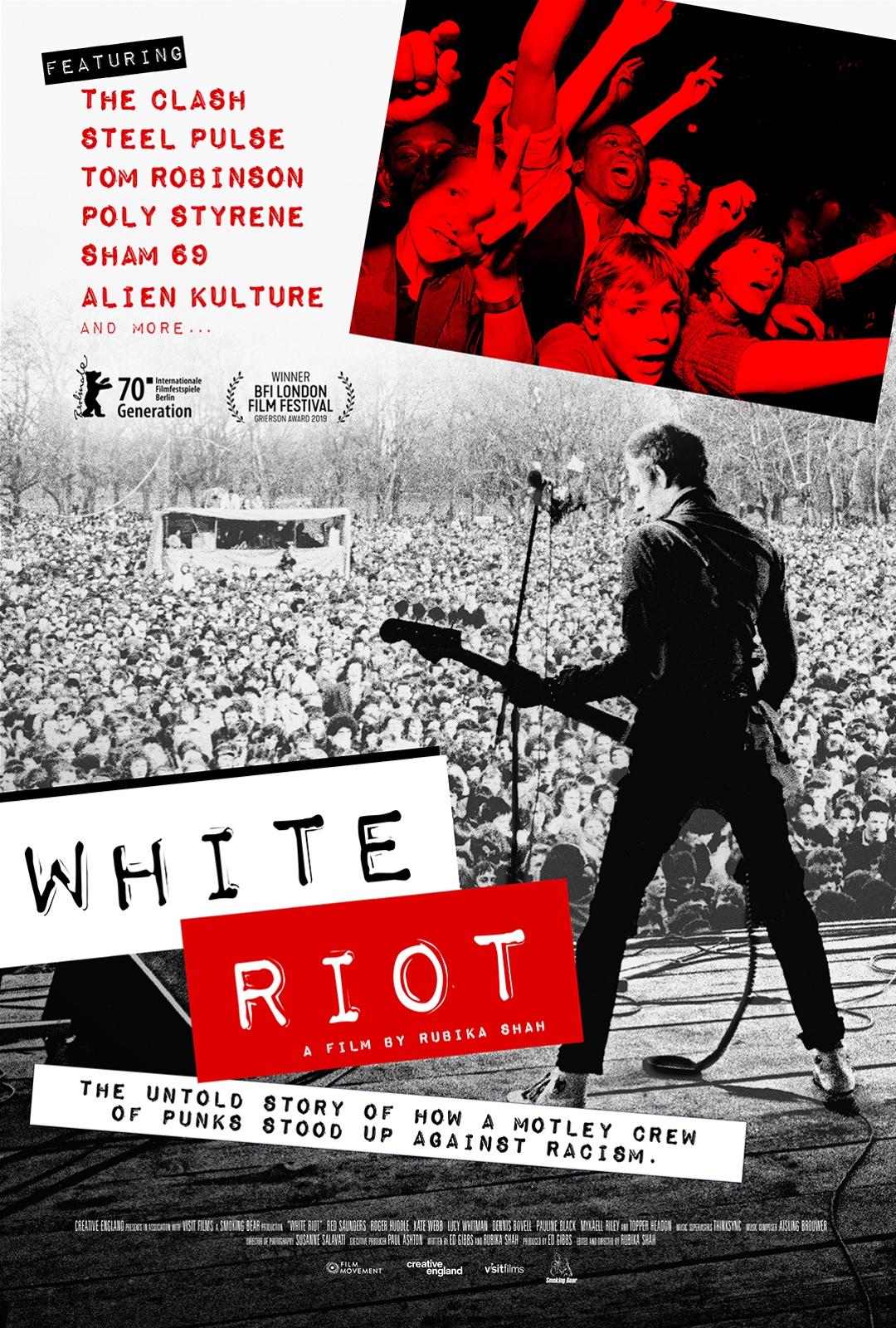 Poster for White Riot