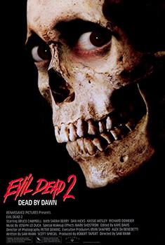 Poster for Evil Dead 2