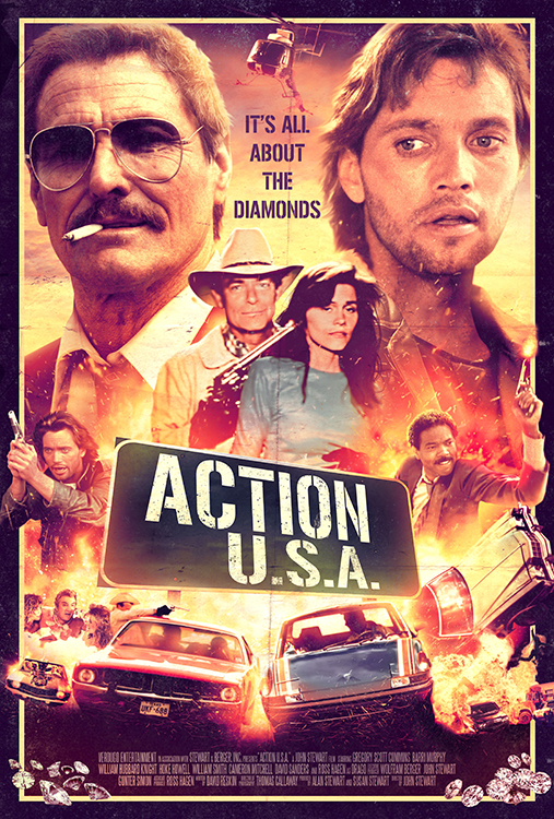 Poster for Action U.S.A.