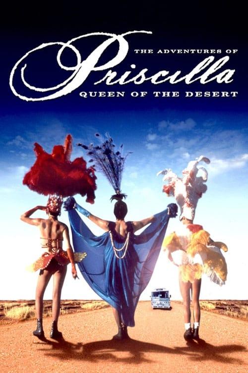 Poster for The Adventures of Priscilla, Queen of the Desert