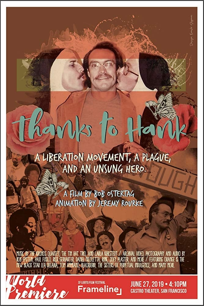 Poster for Thanks to Hank- Live Q&A and screening fundraiser