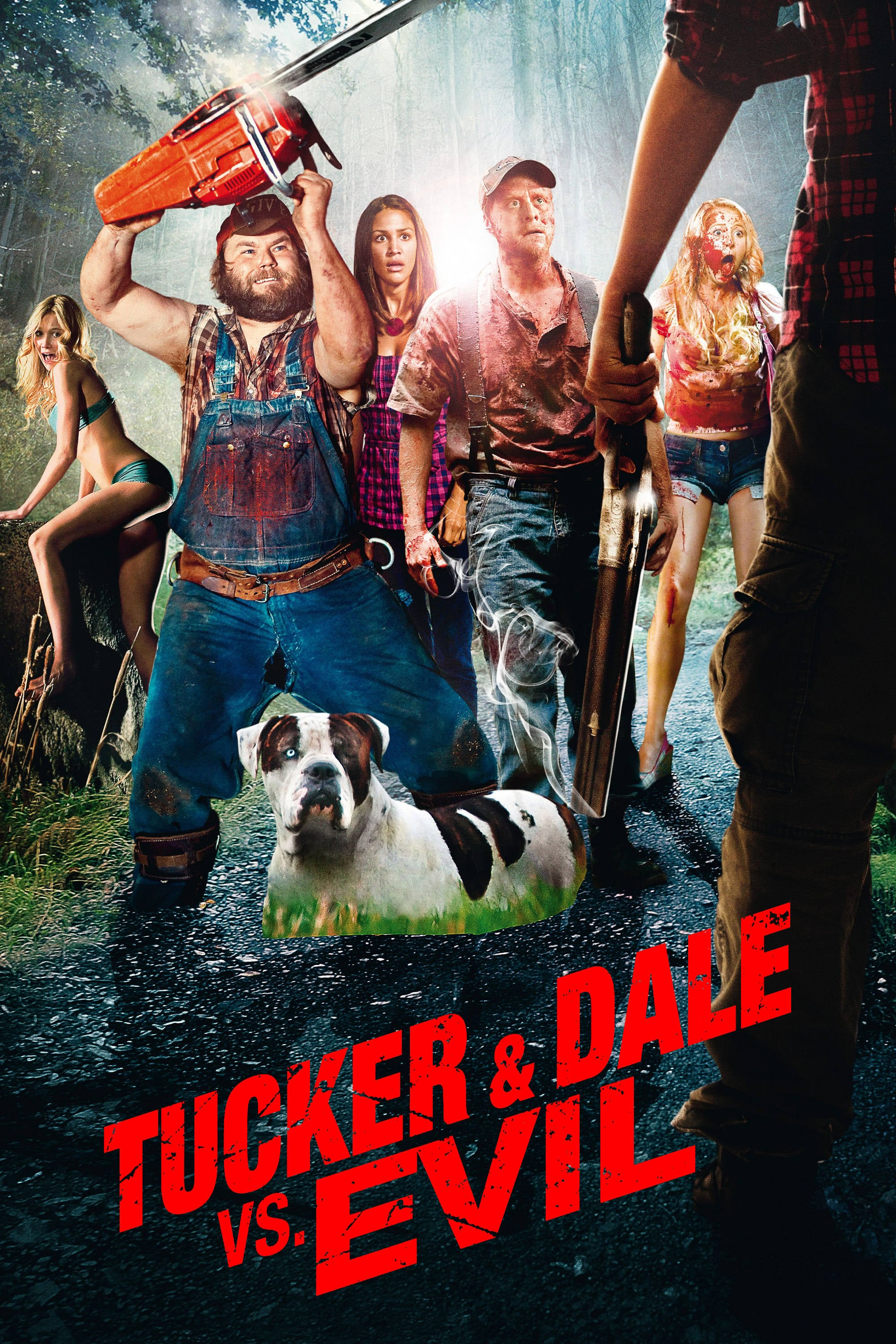 Poster for Tucker and Dale vs. Evil