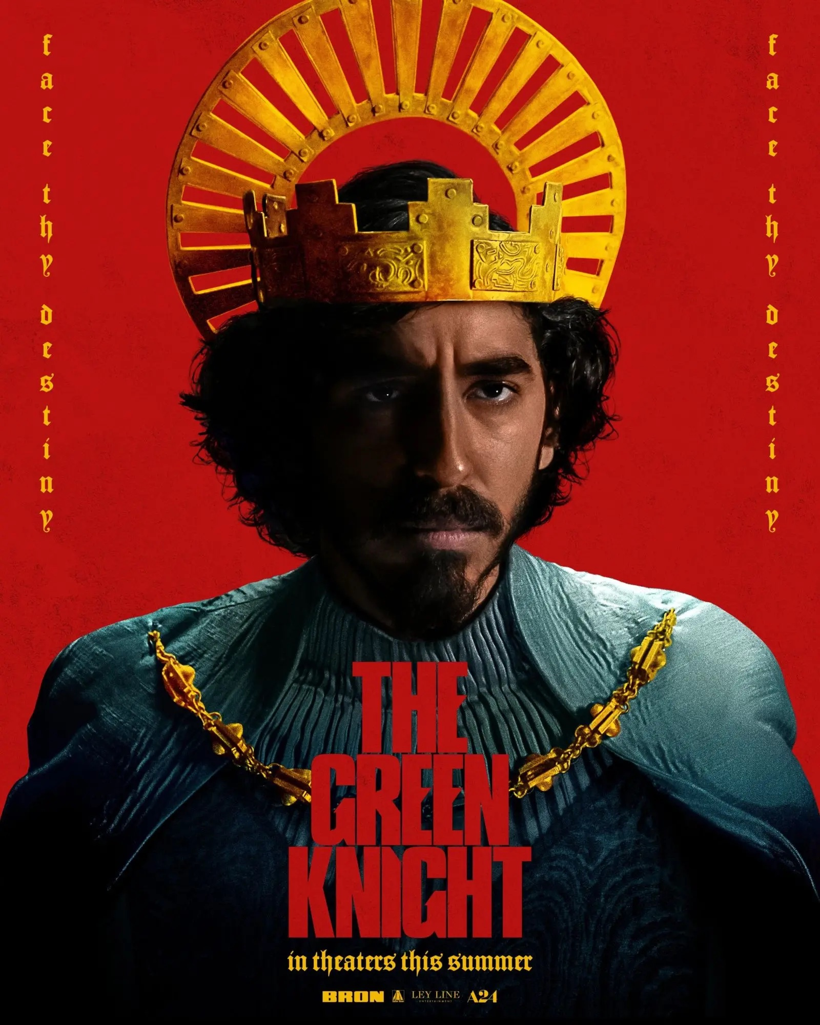 Poster for The Green Knight