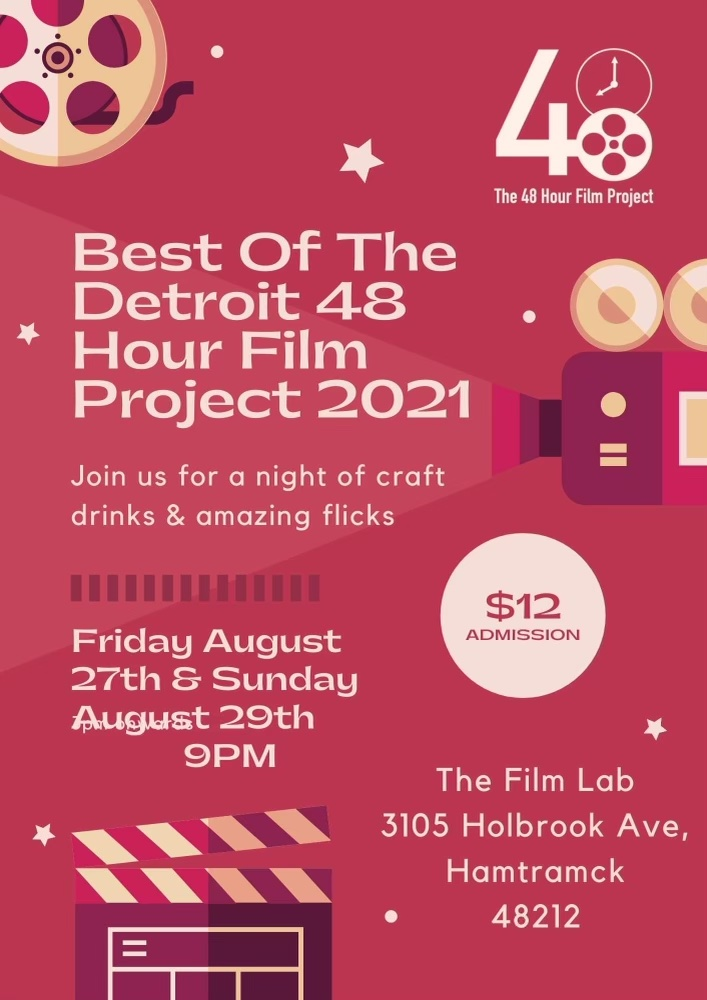 Poster for Best of the Detroit 48 Hour Film Project 2021
