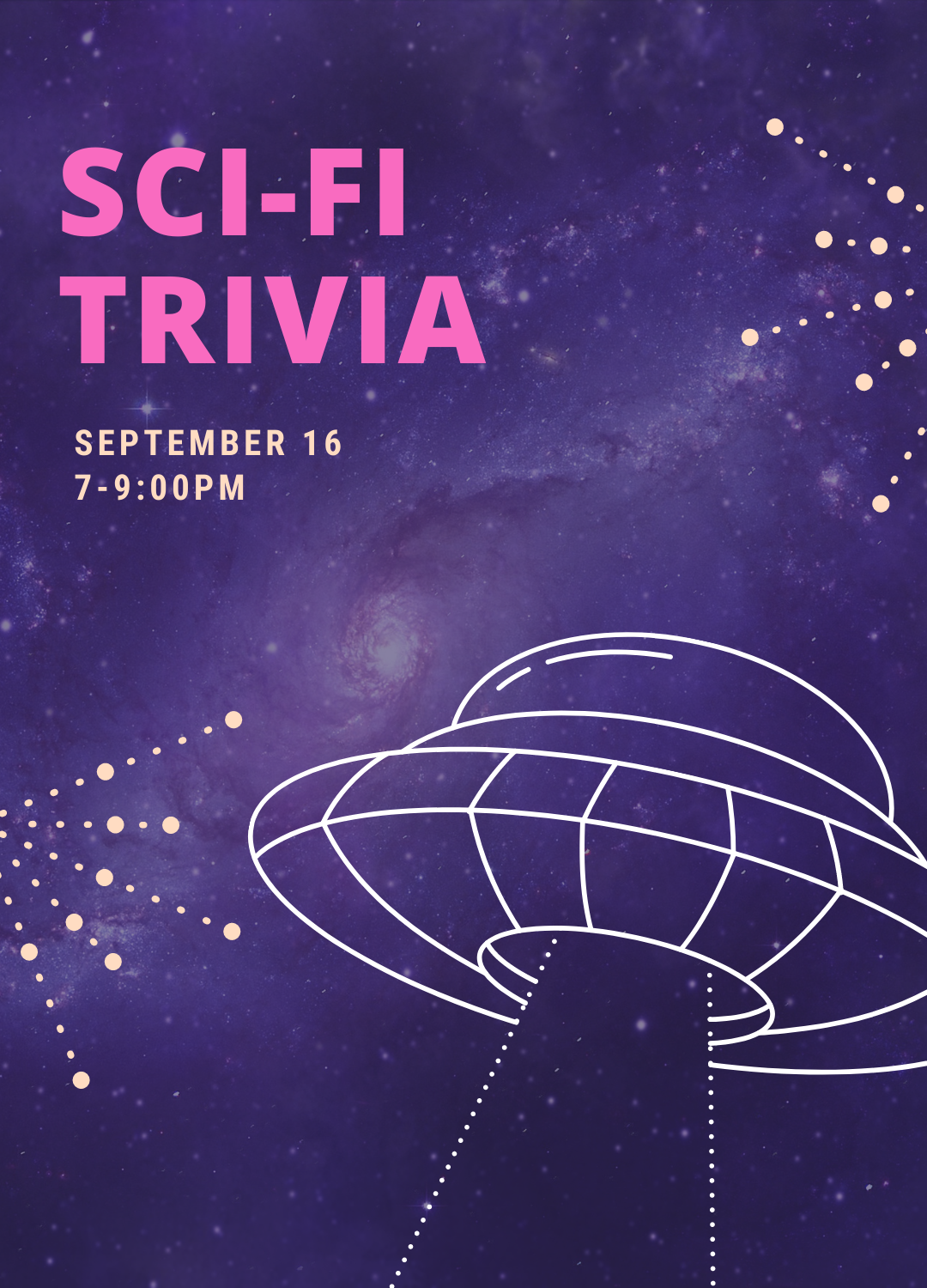 Poster for Sci-Fi Trivia