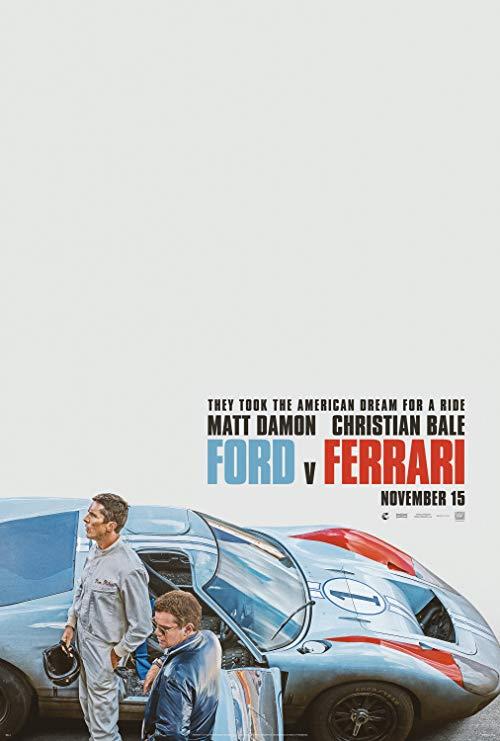 Poster for Ford v. Ferrari