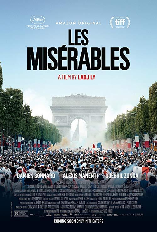 Poster for Les Miserables