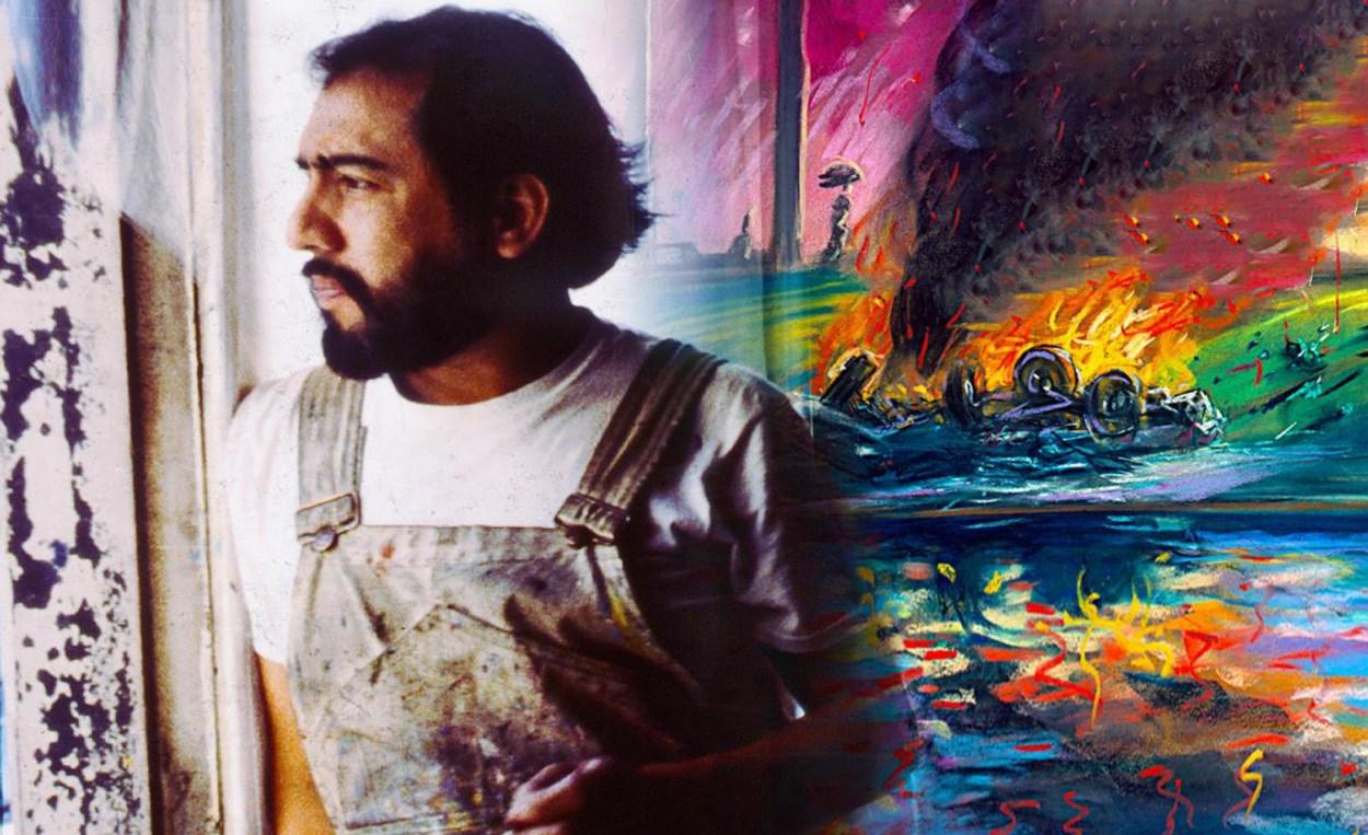 Carlos Almaraz Playing With Fire 2019 San Francisco