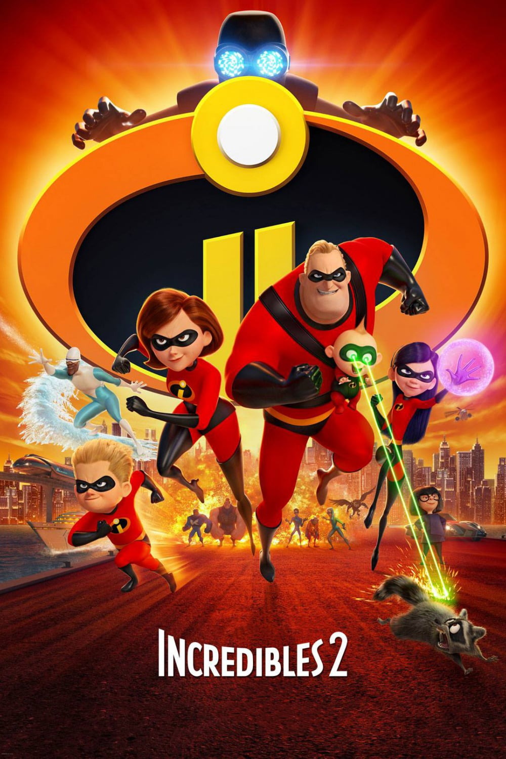 Poster for The Incredibles 2