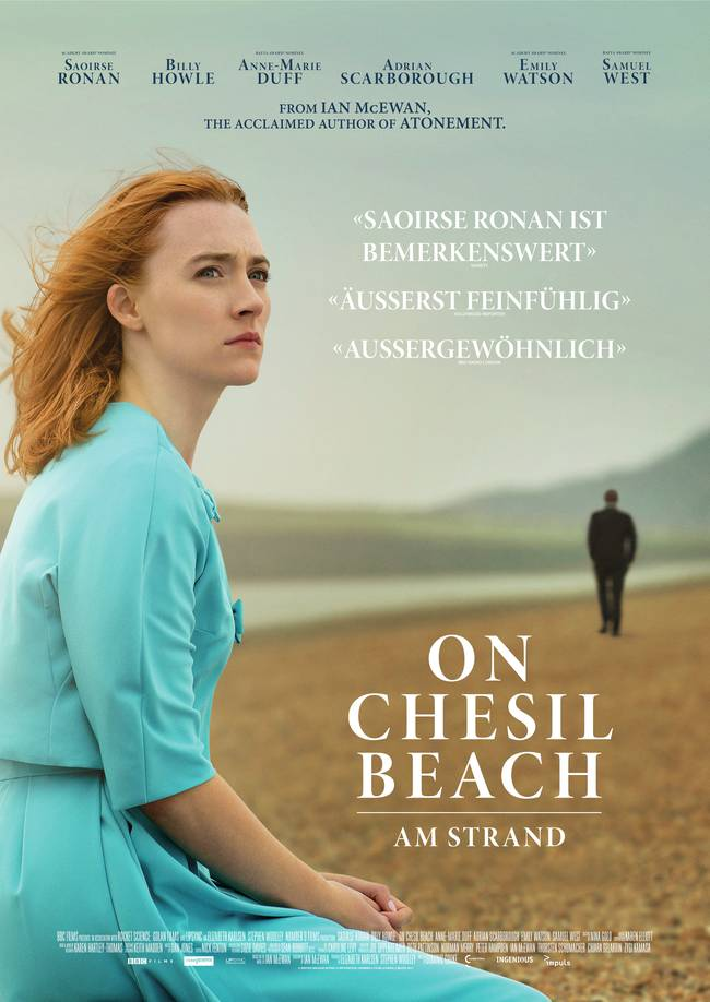 Poster for Books-2-Film: On Chesil Beach