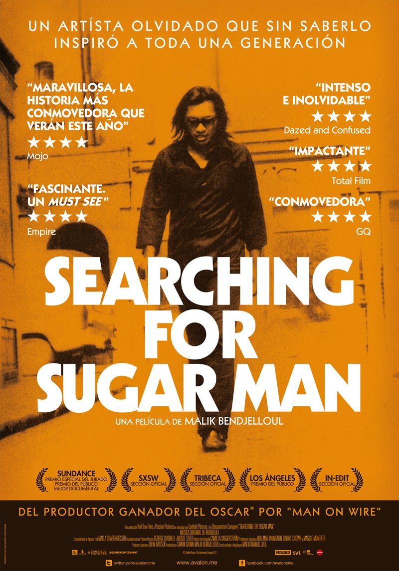 Poster for Searching for Sugar Man