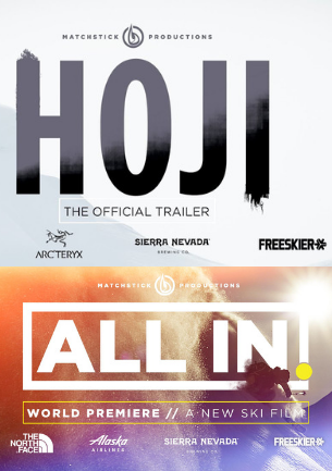 Poster for Hoji and All In by Match Stick Productions