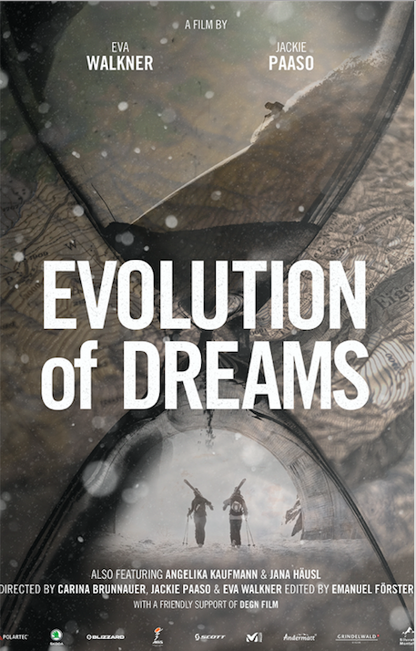 Poster for Evolution of Dreams, A Land Shaped by Women &  the Wallner Brothers Submission to the Åre Video Challenge (North American Premiere)