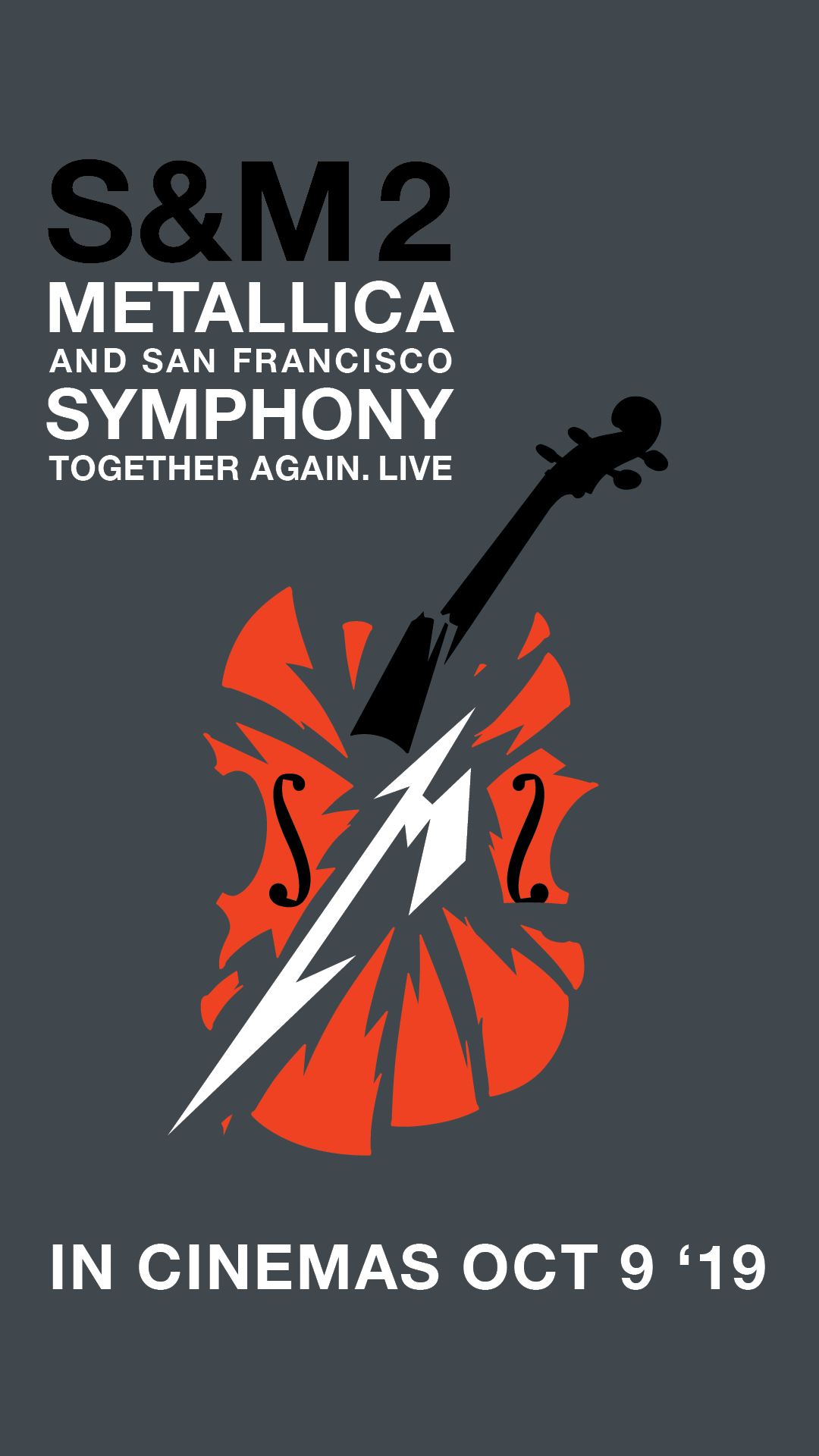 Poster for S & M2: Metallica & The San Francisco Symphony