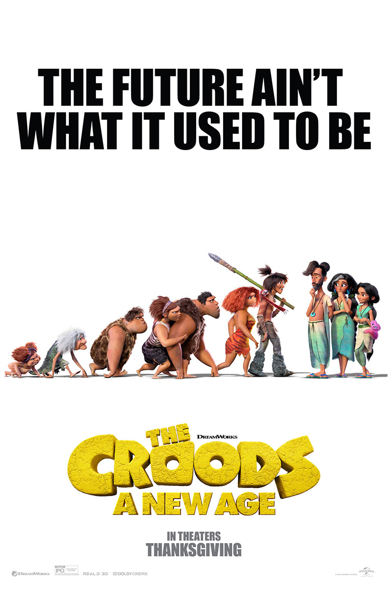 Poster for The Croods: A New Age