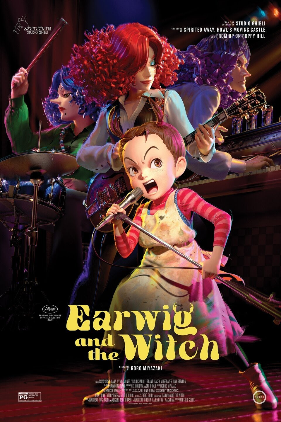 Poster for Earwig and The Witch