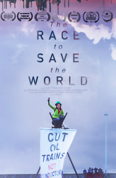 Poster for The Race to Save the World