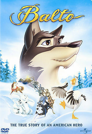 """Poster for Science on Screen®:  """"Mushing, Transportation Using the Power of Dogs"""" & """"Balto"""""""