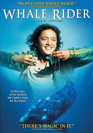 """Poster for Science on Screen®: Chewonki's Fins & Flippers & the Film """"Whale Rider"""""""