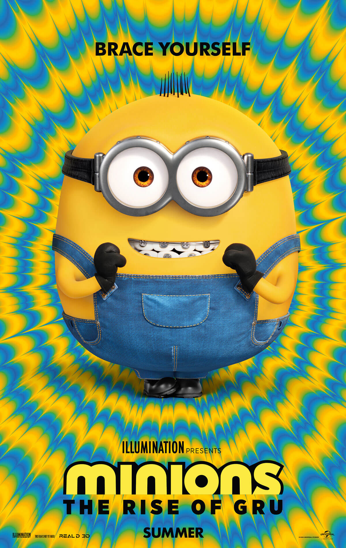Poster for Minions: The Rise of Gru