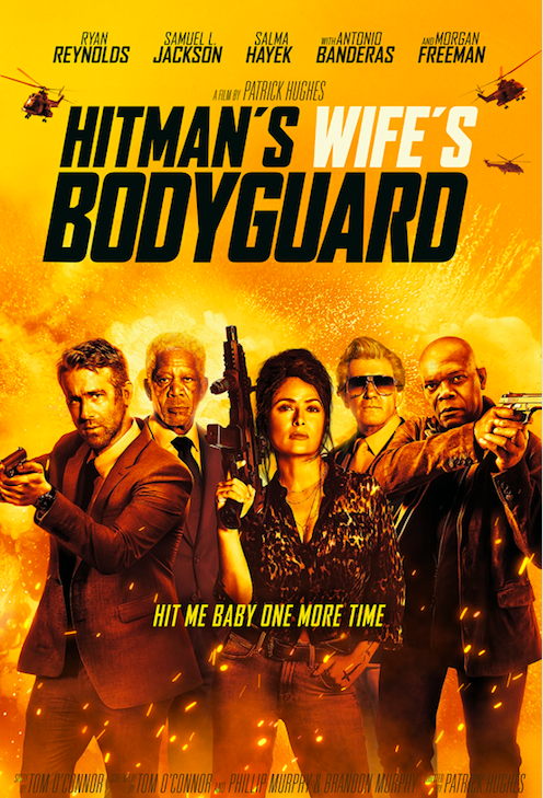 Poster for The Hitman's Wife's Bodyguard
