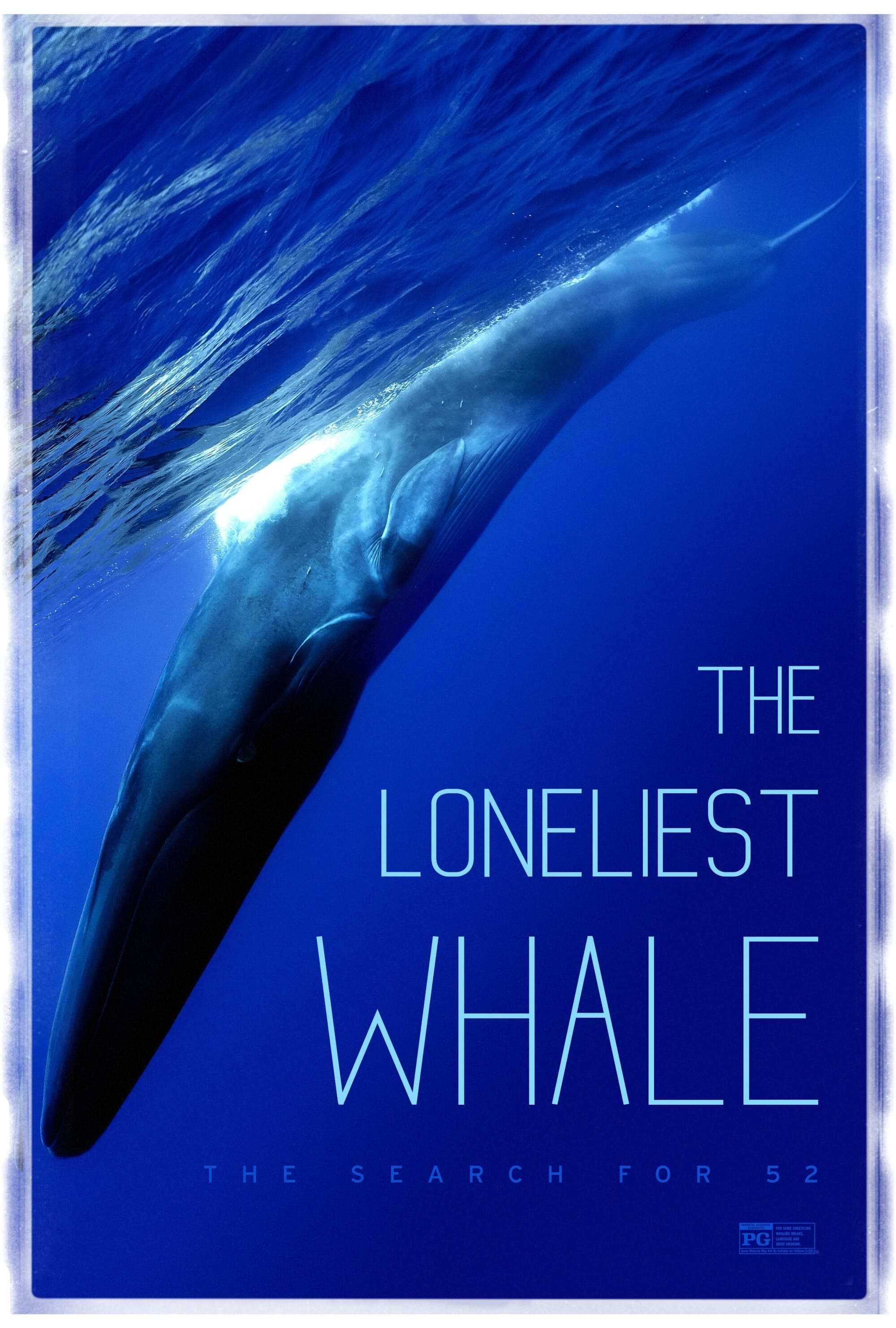 Poster for The Loneliest Whale: The Search for 52