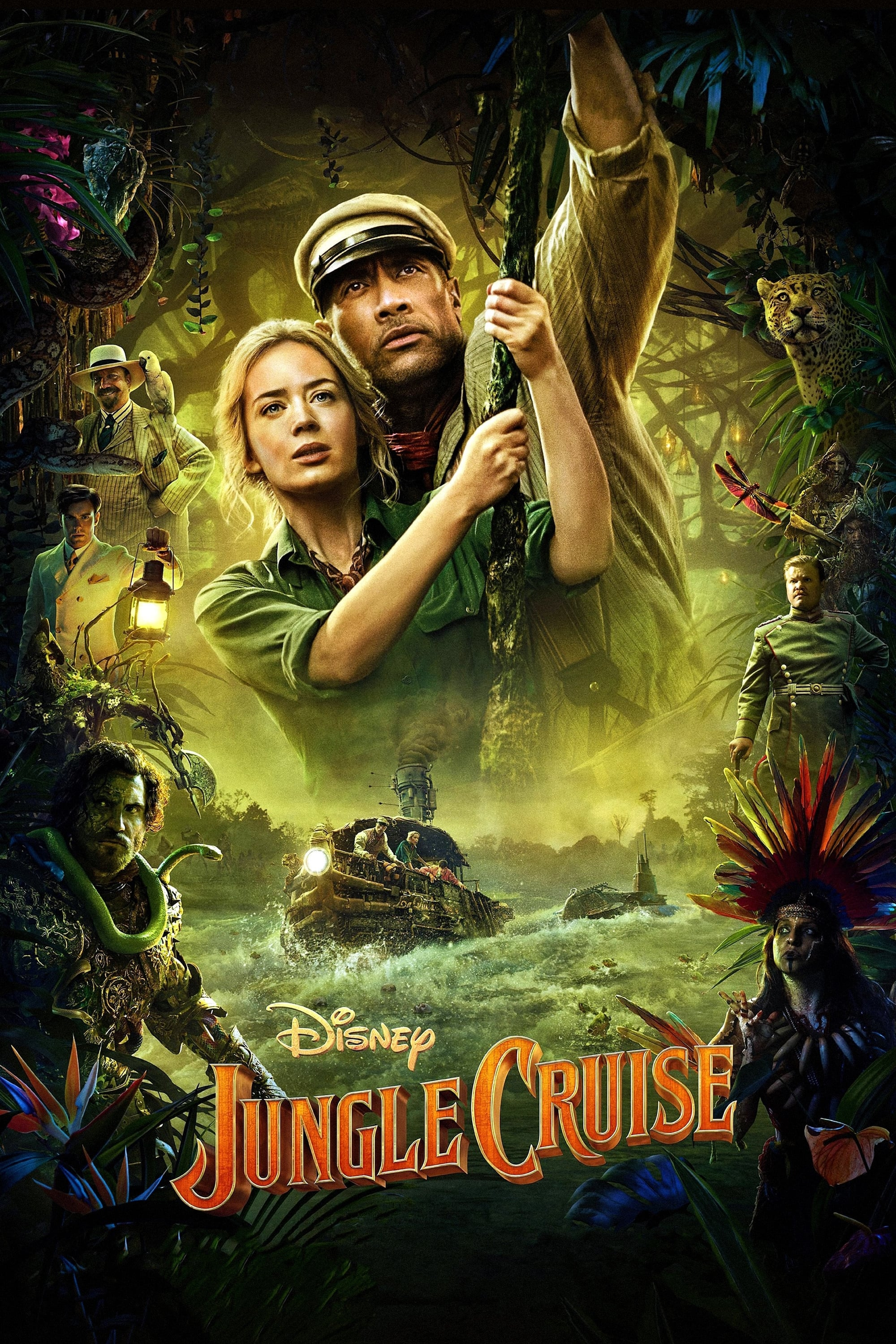 Poster for Jungle Cruise