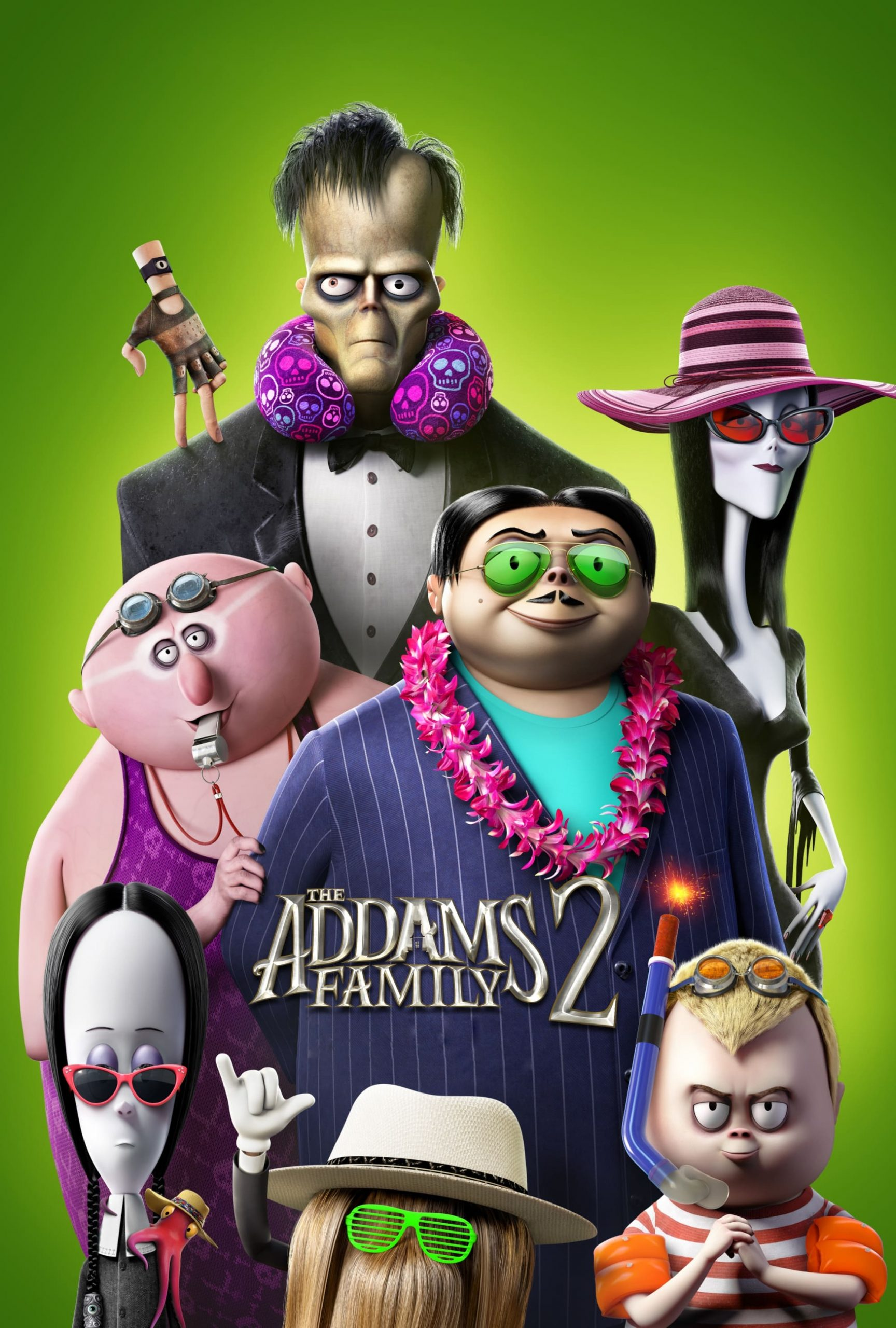 Poster for The Addams Family 2