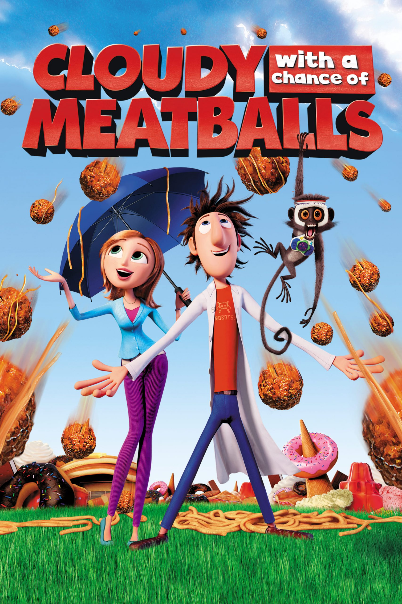 Poster for Cloudy with a Chance of Meatballs