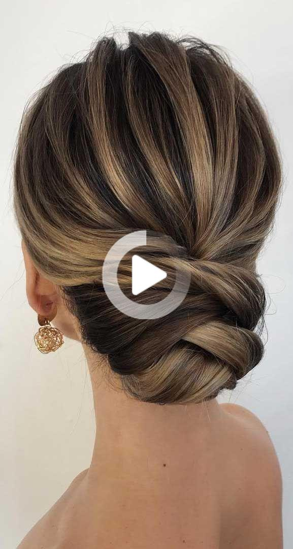 Updos For Medium Length Hair Prom Hair Medium Bridal Hair Updo