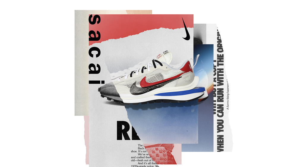 The Nike x sacai VaporWaffle Connects Generations of Running Innovation