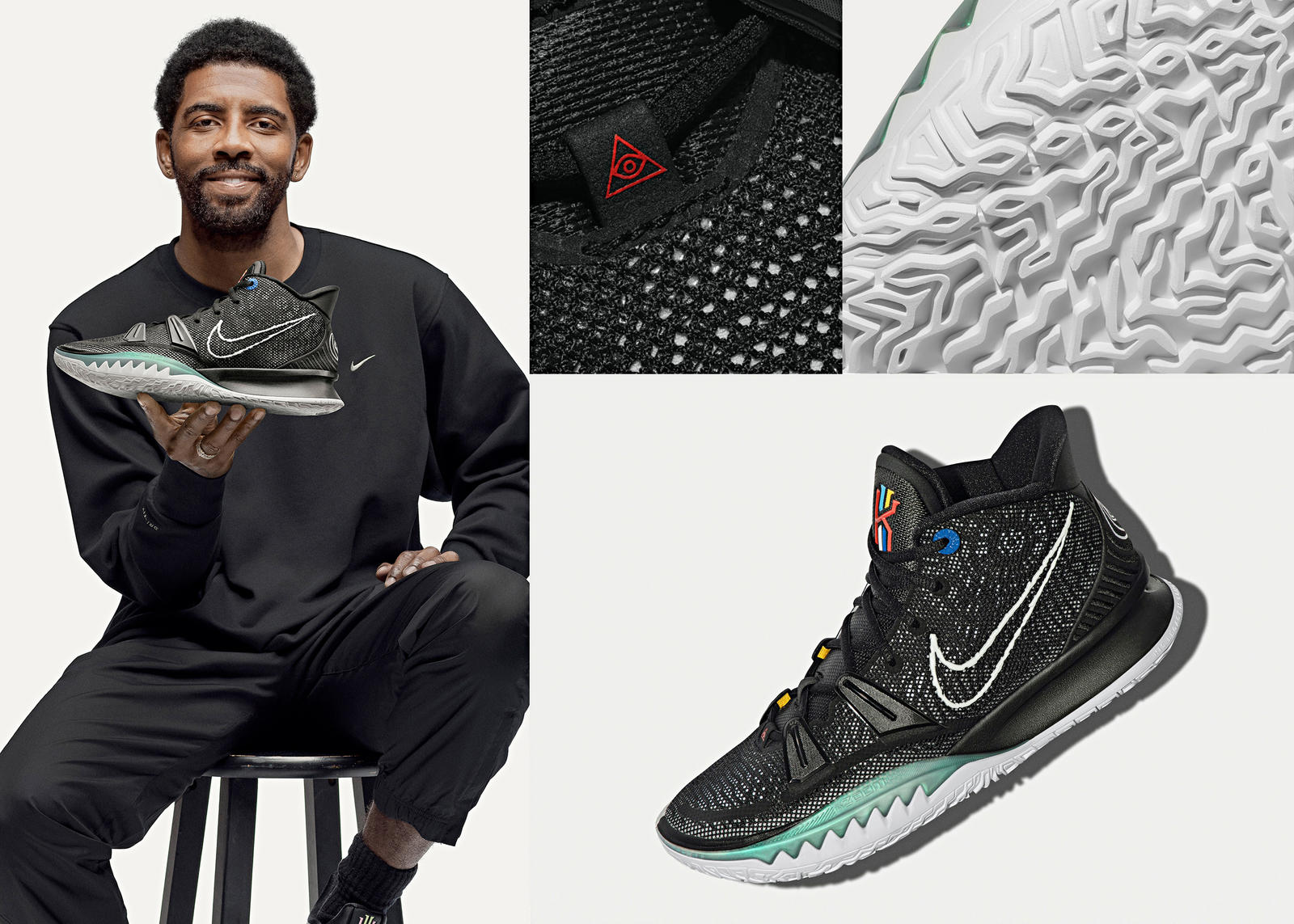 Kyrie 7 Official Images and Release