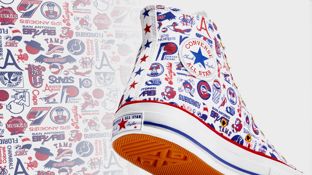 This Converse Basketball Capsule is Inspired by the ABA, the Dazzlingly Flashy Precursor to Today's Game