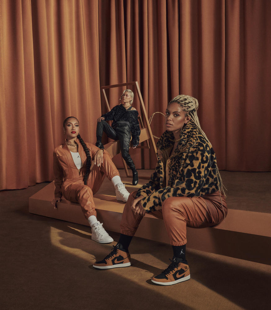 Jordan Brand's New Women's Collection Offers Bold Prints and Sumptuous Fabrics