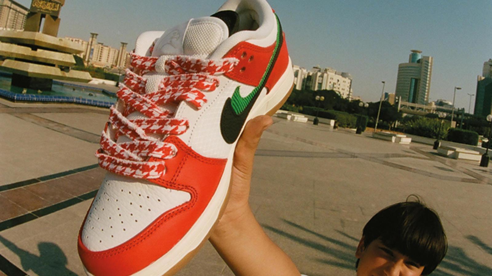 Frame x Nike SB Dunk Habibi  2