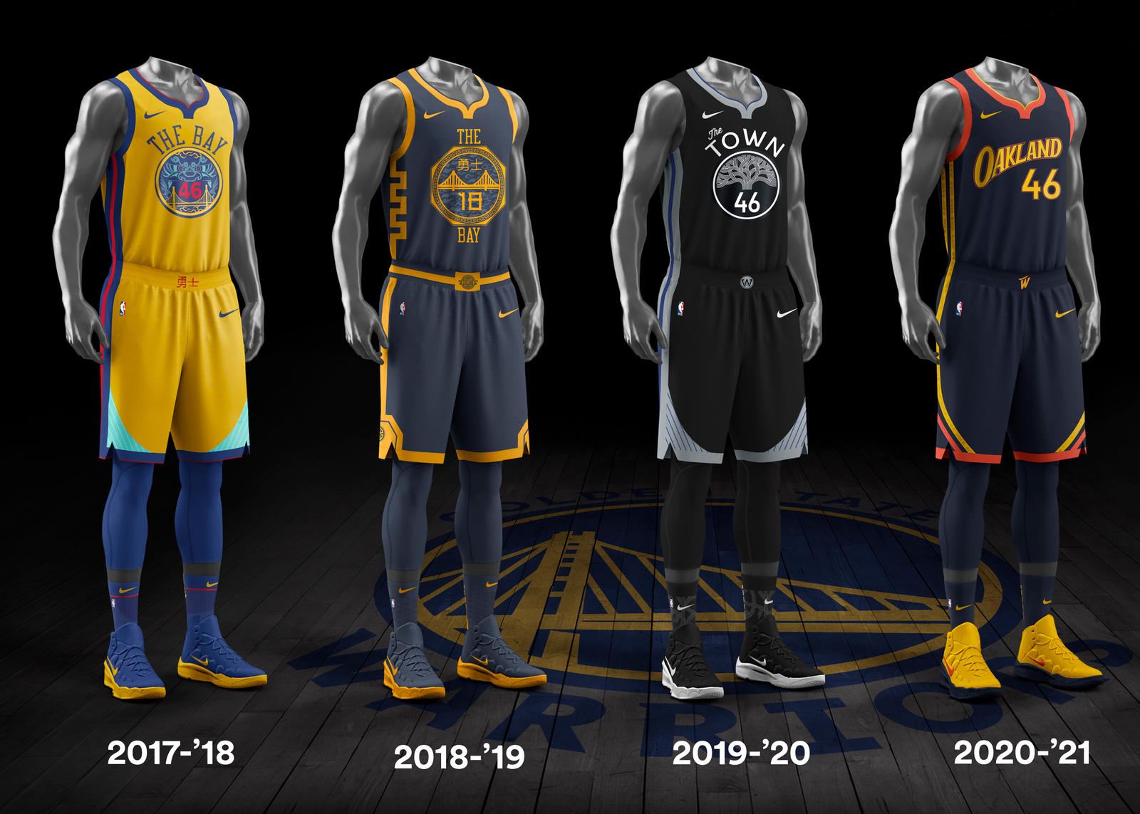 NBA City Edition Uniforms 6